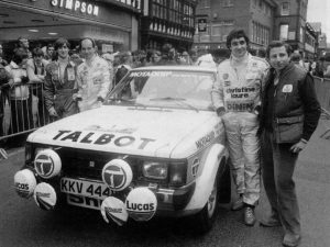 Jean Todt rally 1981